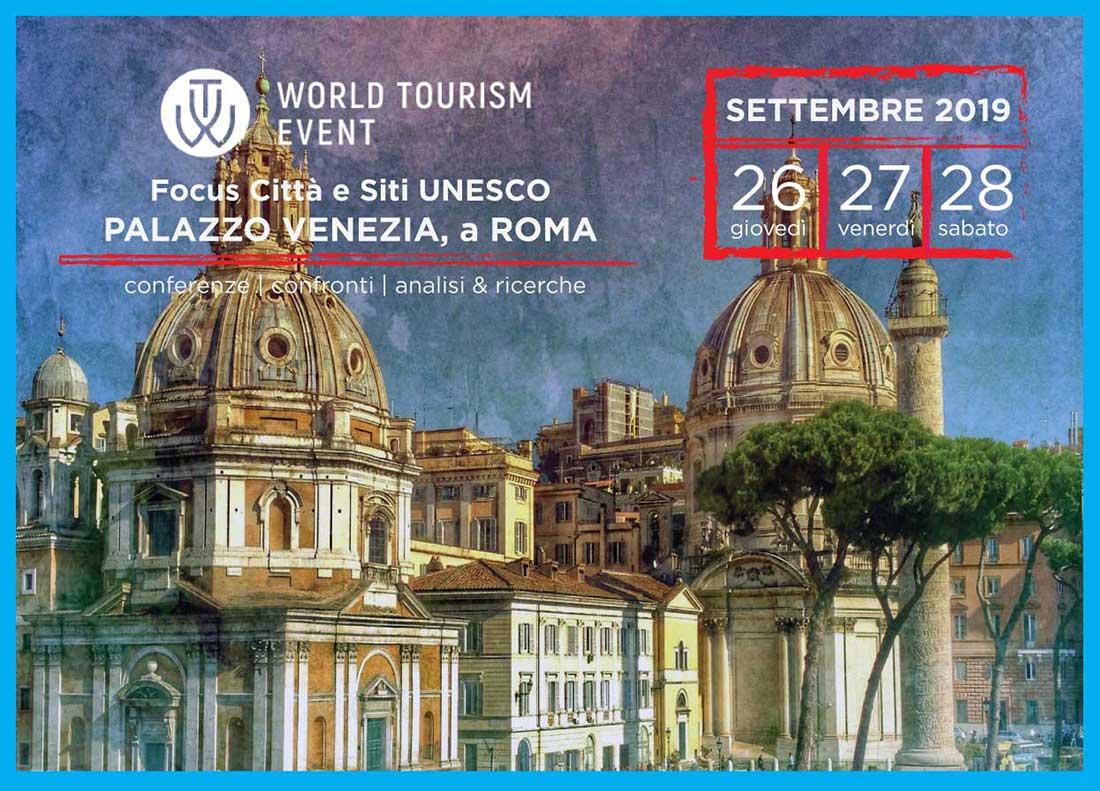 WTE 2019 | Focus su Città e Siti UNESCO, a settembre a Palazzo Venezia Roma
