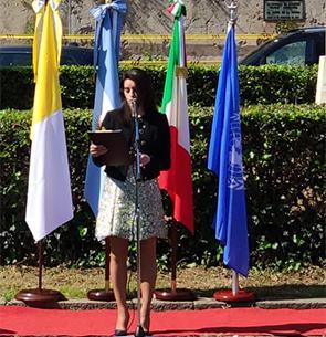 Cecilia Castillo a Roma Focus Città e Siti UNESCO
